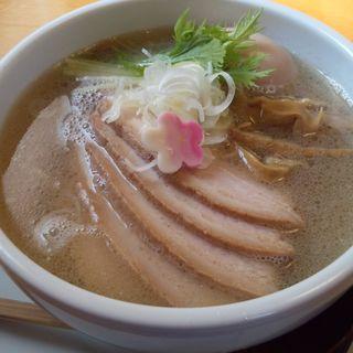 特製塩らーめん (春の風 (自家製麺のお店 麺処))