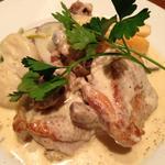 みつせ鶏と冬野菜のフリカッセ