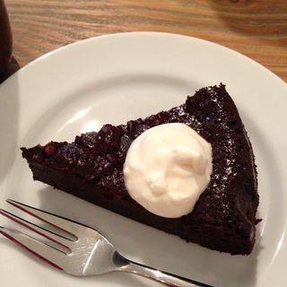 チョコレートケーキ(カフェ トモチート (cafe tomochito))