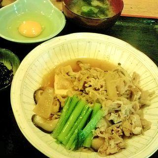 牛すき焼き定食(大漁 )