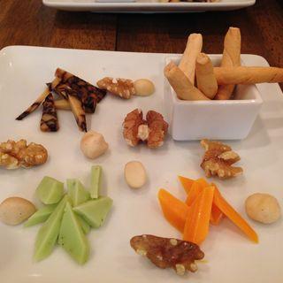 チーズ盛り合わせ(ムンカフェ (munncafe))
