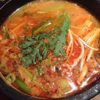 コムタン辛スープ(太樹苑 三軒茶屋店 (タイジュエン))