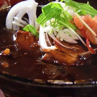 霧島豚のスパイシー黒カレーのおうどん(い蔵 (伝統自家製麺 い蔵))
