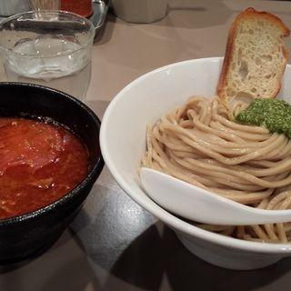 海老トマトつけ麺(らーめん 五ノ神製作所 )