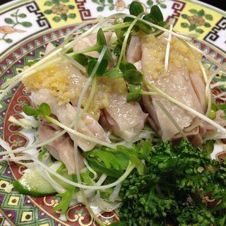 香港式蒸し鶏(中華料理鉄人の店 天天 )