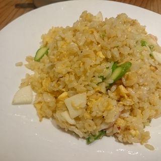 ずわい蟹と野菜の炒飯( 華菜樓)