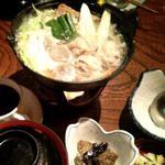 鶏ちゃんこ鍋定食