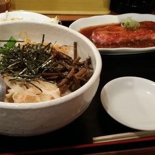 得々カルビ定食(焼肉 横濱慶州苑 菊名店 (ヨコハマケイシュエン 横浜))