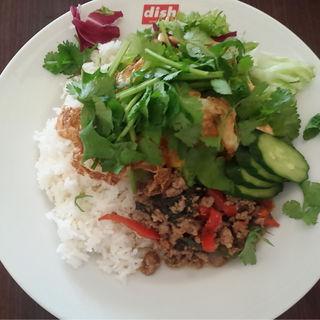 Dish's rice  Large(dish)
