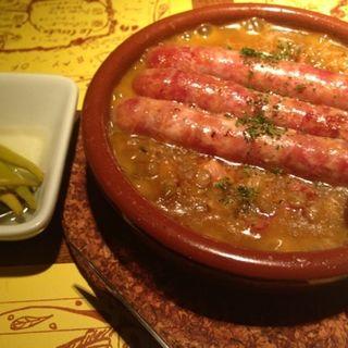 イベリコ豚のソーセージ(スペインバル ヴィータ)