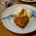 アップルパイとバニラアイス