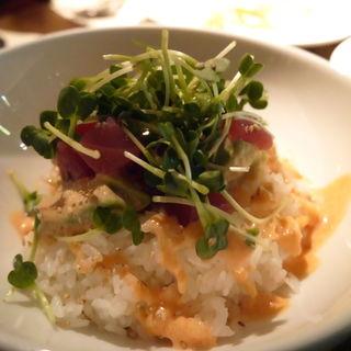 マグロとアボガド丼明太マヨソース(和カフェ yusoshi)