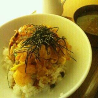 海老かきあげ丼(和カフェ yusoshi)