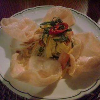 青いパパイヤのサラダ(ヴェトナム・アリス ルミネ新宿店 )