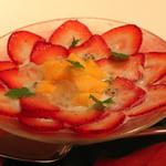 苺と完熟パパイヤのチェー