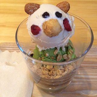 抹茶と玄米のアイス(ココロ キョウト (COCOLO KYOTO))