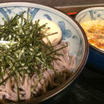 ごまだれ鶏つけ蕎麦(ボンサイ (BONSAI))