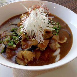 濃厚豚バラカレーうどん(スナンカフェ (Sunan Cafe))