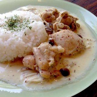 粒マスタードの鶏プレート(スナンカフェ (Sunan Cafe))