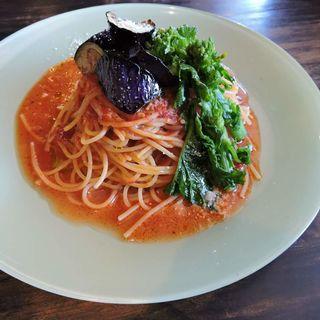 トマトとモッツァレラチーズのパスタ(スナンカフェ (Sunan Cafe))