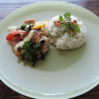 野菜のチキンソテー(スナンカフェ (Sunan Cafe))