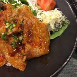 豚バラスタミナ焼き(スナンカフェ (Sunan Cafe))