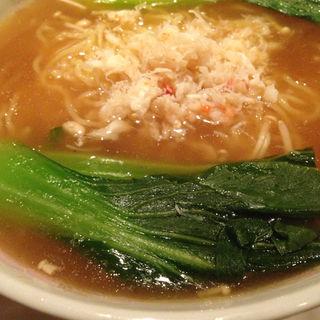 フカヒレ入り汁蕎麦(Shanghai Dining 状元樓 自由が丘店 (ジョウゲンロウ))
