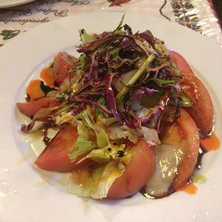 トマトとアンチョビのサラダ(メソン・バスカ )