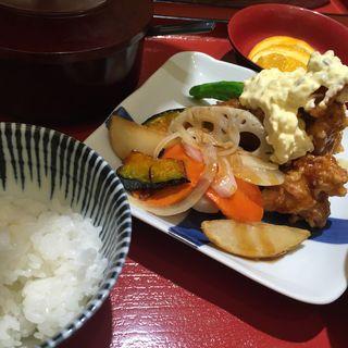 チキン南蛮定食(本さち福や 大丸梅田店 )