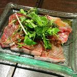 産直鮮魚のカルパッチョ