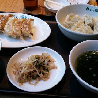 ランチ定食(餃子の福包 代々木八幡店)