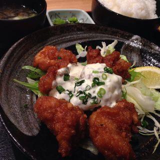 チキン南蛮セット(旬鮮だいにんぐ 天狗 京都四条通店 )