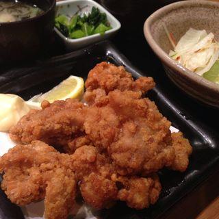 鶏の唐揚げセット(旬鮮だいにんぐ 天狗 京都四条通店 )