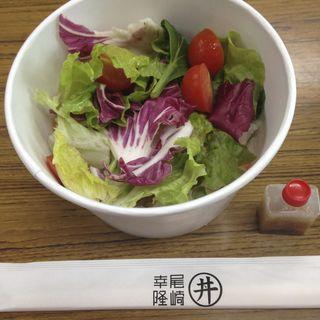 サラダ丼(尾崎幸隆 丼 (オザキユキタカ ドン))