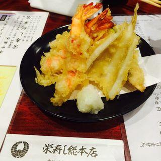 天ぷら盛り合わせ(栄寿司総本店)
