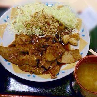とんてき定食(関宿亭)