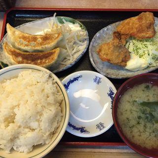 萬里餃子スペシャル定食1(中華食堂 萬里 本店 )