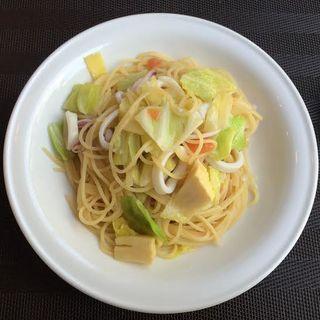 やりいかと筍のスパゲティ(TRATTORIA 522 (トラットリア・ゴニーニ))