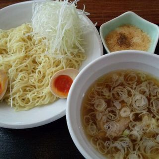 のらや流 つけ麺(普通200g+味玉子+白ねぎ(のらや )