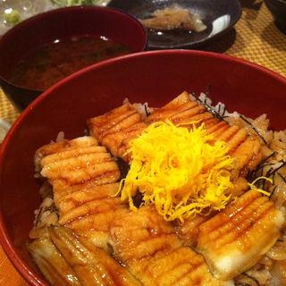 穴子丼(韋駄天 (いだてん))