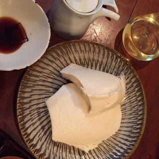 なごり雪(ざる豆腐)(日曜庵)