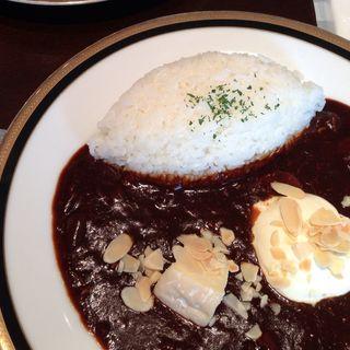 早矢仕ライス モッツァレラチーズ添え(M&C Cafe 丸の内オアゾ (エムシー・カフェ))