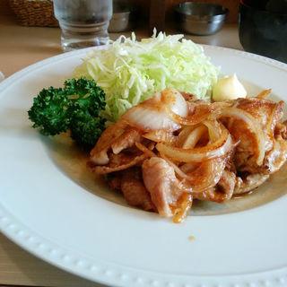 ポーク生姜焼き(カフェ アラビカ )