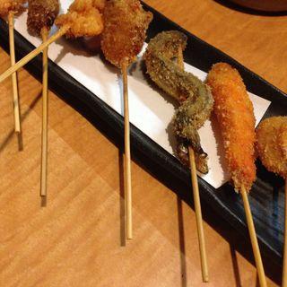 おまかせ串盛り 7種盛り(酒バル ごんた)