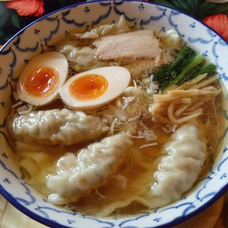 モチモチわんたんめん+味玉 (久我 )