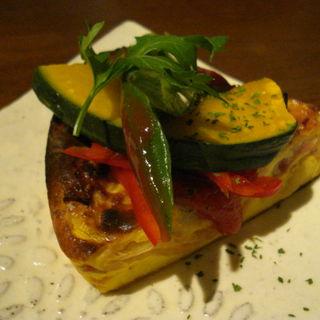 お野菜のキッシュ(Cafe kuma.co)