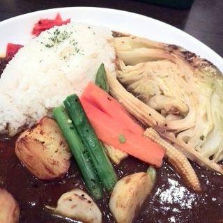 春野菜たっぷりカレー(しゃぽーるーじゅ )