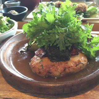 豆腐ハンバーグランチ(やさい家めい 六本木ヒルズ店)