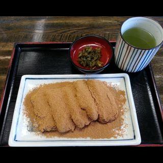 安倍川餅(深川 伊勢屋 )