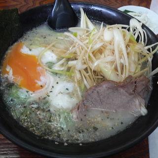 塩卵ラーメン+ネギ (らーめん家 きらく )